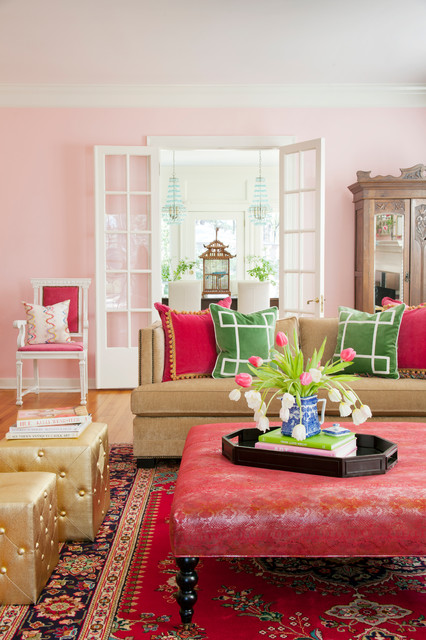 Inexpensive Couches Living Room Shabby Chic with Area Rug Bella Pink