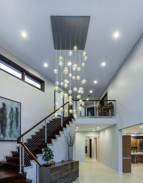Iron Balusters Staircase Modern with Categorystaircasestylemodernlocationnew York