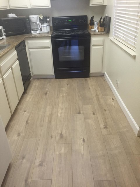 Ivc Flooring Kitchen Contemporary with Beige Walls Flooring Folsom