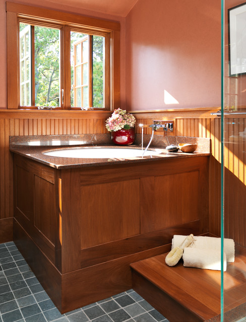 Jacuzzi Bathtubs Bathroom Craftsman with Arts Crafts Asian Style