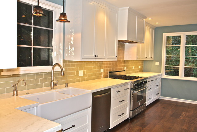 Jarvis Appliance Kitchen Traditional with Blue Star Range Built