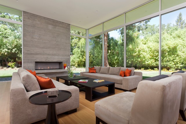 Jeremiah Lighting Living Room Contemporary with Bright Colors Coffee Tables