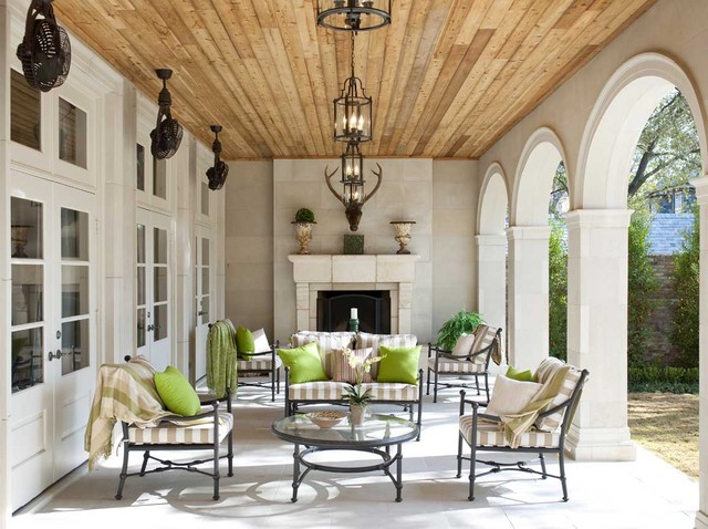 Jessica Mcclintock Furniture Patio Traditional with Arched Wall Openings Arches