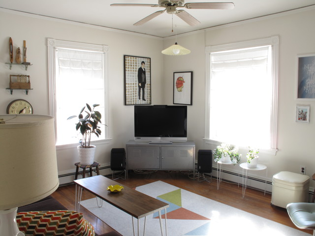 Kb6524ps Living Room Eclectic with Area Rug Ceiling Fan