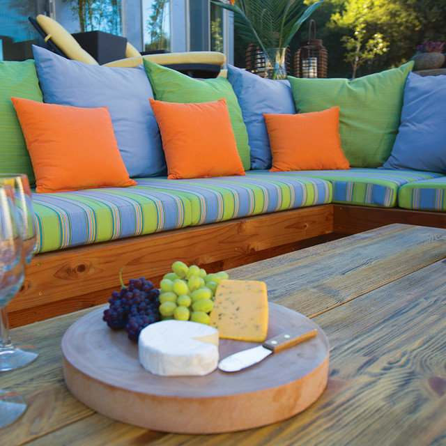 Kilim Pillows Patio Contemporary with Categorypatiostylecontemporarylocationother Metro