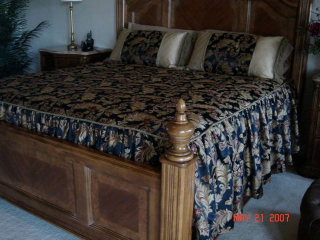 king bedspread Bedroom Traditional with bed spreads Custom Bedding