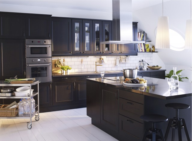kitchen cart ikea Kitchen Modern with CategoryKitchenStyleModernLocationOther Metro