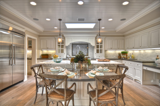 Kitchen Dinette Sets Kitchen Beach with Beadboard Breakfast Bar Ceiling