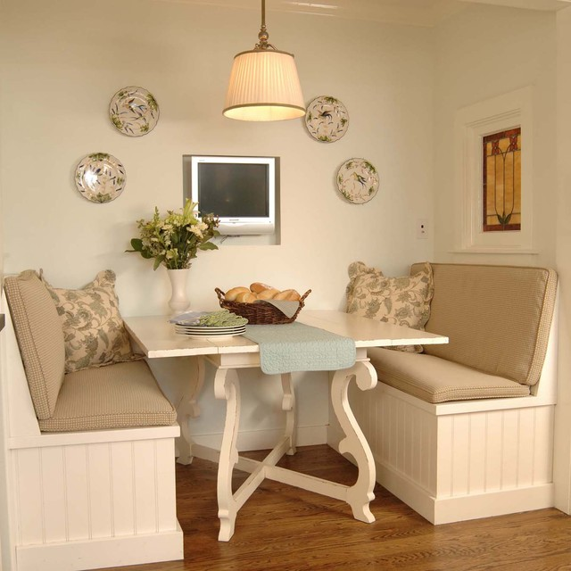 kitchen dinette sets Kitchen Traditional with Arts and Crafts banquette