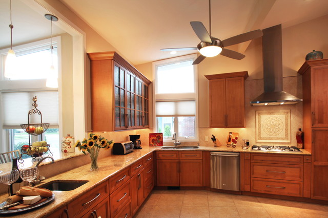 Kitchen Layout Planner Kitchen Traditional with Llcmargate Natural Cherry Nj