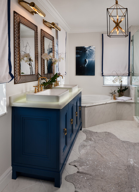 Kohler Purist Bathroom Transitional with Acrylic Art Acrylic Print