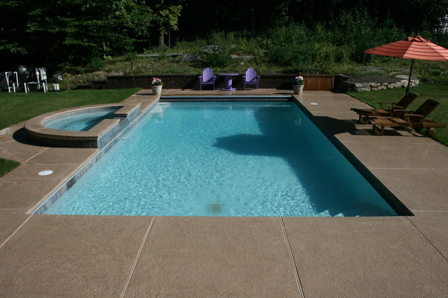 Kool Deck Pool Traditional with Categorypoolstyletraditionallocationnew York