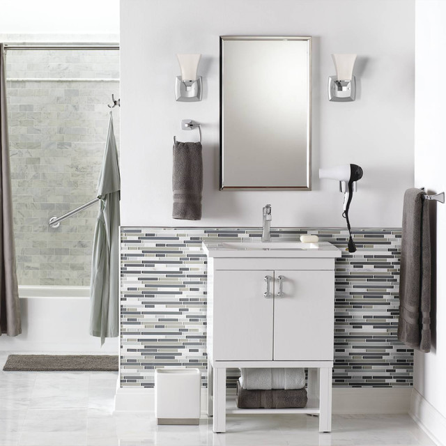 Kraus Faucets Bathroom Contemporarywith Categorybathroomstylecontemporary
