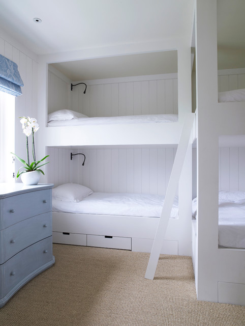 L Shaped Bunk Beds Bedroom Traditional with Bed Storage Bedroom Ideas