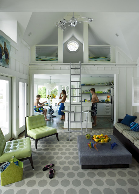 Landry and Arcari Pool Beach with Area Rug Atelier Attic