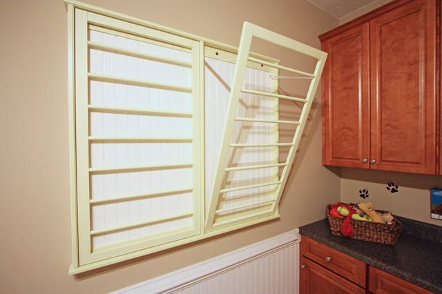 laundry drying rack Laundry Room Traditional with CategoryLaundry RoomStyleTraditionalLocationRichmond