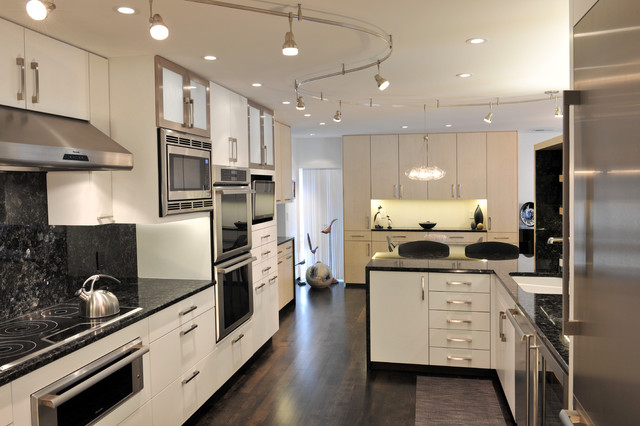 Lbl Lighting Kitchen Contemporary with Beige Cabinets Beige Drawers