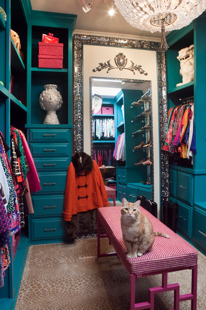 Leaning Floor Mirror Closet Eclectic with Bright Colors Chandelier Closet