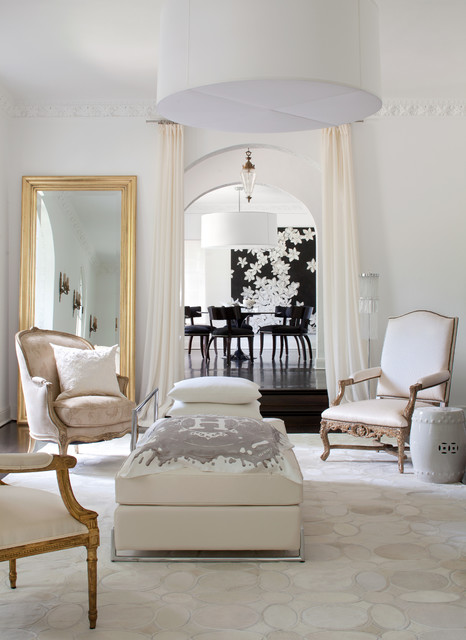 Leaning Floor Mirror Living Room Contemporary with Antique Arch Arched Doorways