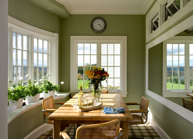 Ledge Shelf Kitchen Traditional with Awning Windows Bay Window