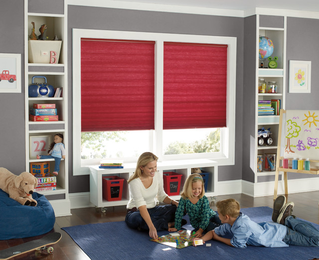 Levolor Shades Kids Traditional with Blindscom Cell Shades Cellular