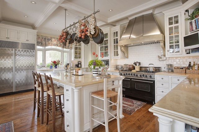 Limestone Countertops Kitchen Traditional with Barstools Beige Countertops Coffer