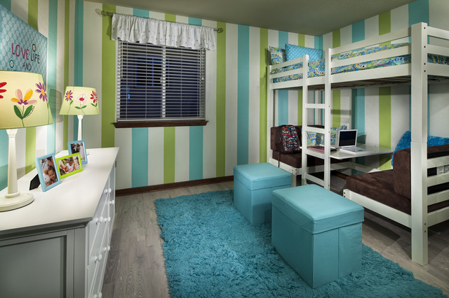Loft Bed with Desk Underneath Kids Contemporary with Bunk Beds Loft Paint