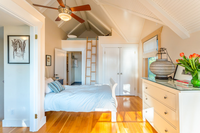 loft beds for adults Bedroom Beach with airy beach house ceiling
