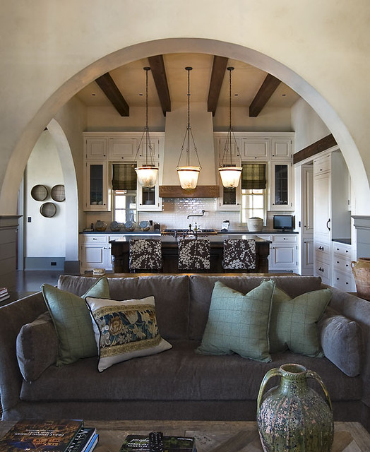 Love Seat Covers Kitchen Rustic with Arches Beams English Arts