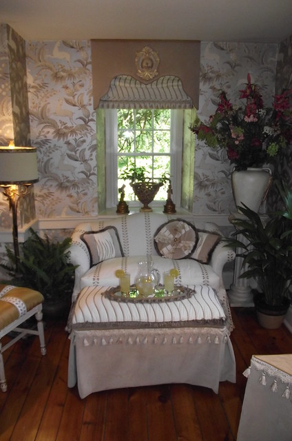 Love Seat Slip Covers Bedroom Traditional with Fancy Custom Pillows Ottoman