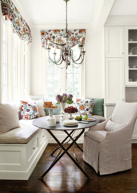 Love Seat Slip Covers Kitchen Traditional with Banquette Seating Breakfast Nook