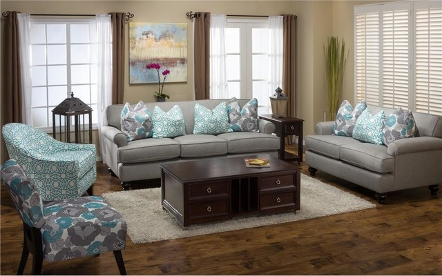 Loveseat Cover Spaces Modern with Contemporary Living Room Living