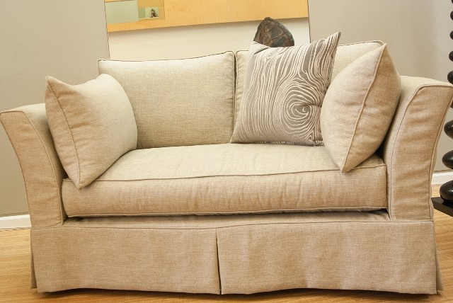 Loveseat Slipcovers Spaces with Custom Slipcovered Sofa Sleeper