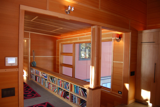Low Bookcase Hall Contemporary with Cabinets Carpet Runners Fram