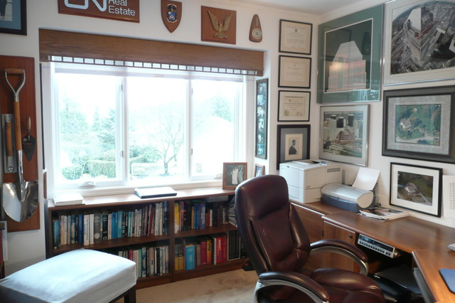 Low Bookcase Home Office Eclectic with Bookcase Bookcase Under Window