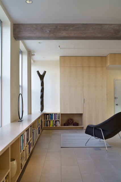 low bookcase Living Room Modern with apartment bookshelf built ins