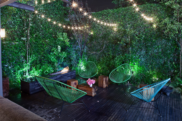 Lowes Easley Sc Deck Contemporary with Garden Lights Green Wall