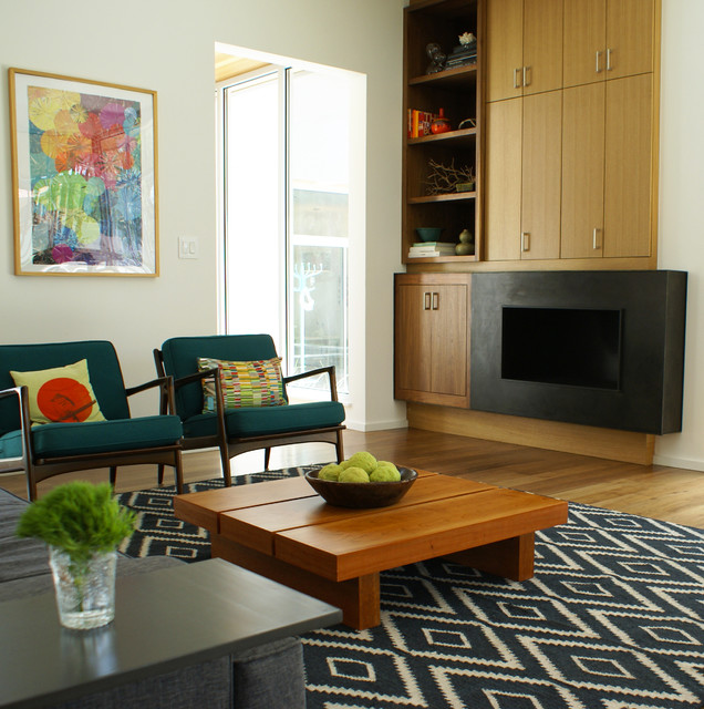 Lowes Florence Sc Living Room Modern with Black Fireplace Blue Rug