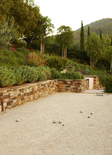 Lowes Shawnee Ok Landscape Mediterranean with Barbecue Bocce Ball California