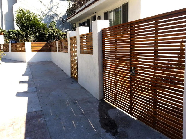 Lowes Vinyl Fence Exterior with Brentwood Contemporary Culver City
