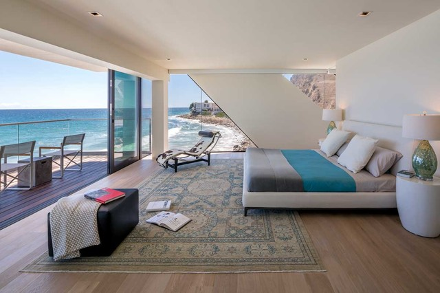 lowes virginia beach Bedroom Contemporary with area rug beach cottage