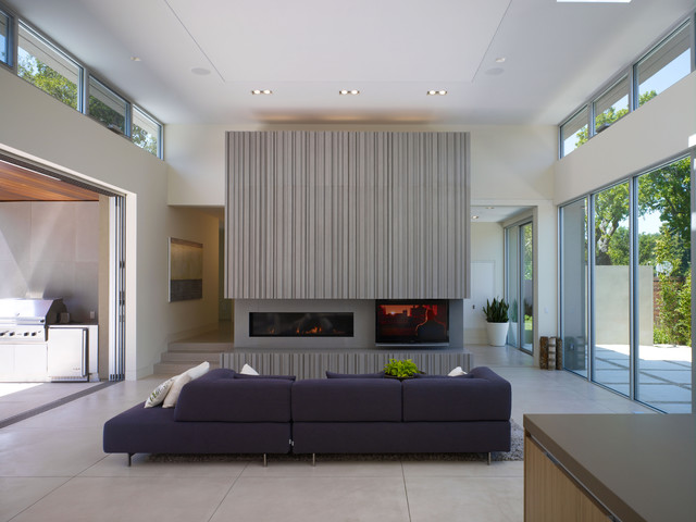 Lowes Watertown Ny Living Room Contemporary with Ceiling Lighting Clerestory Concrete