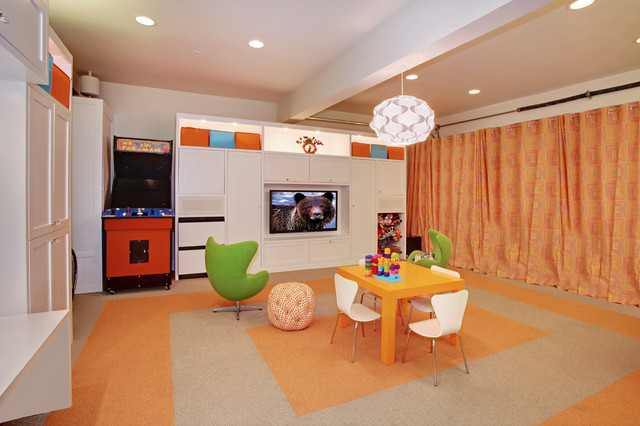 Lutron Electronics Kids Contemporary with Arcade Game Clean Condo