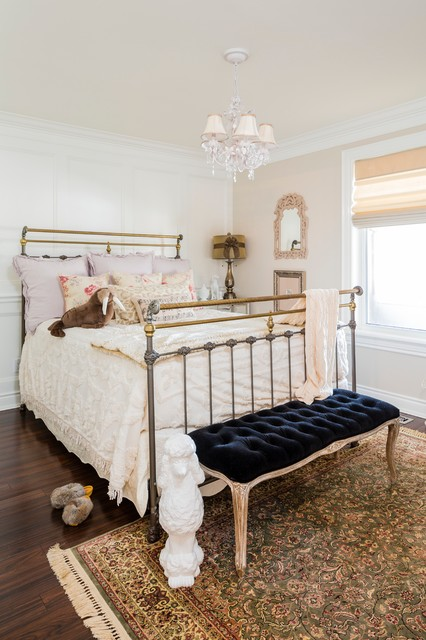 madison park bedding Kids Traditional with black bench cabriole legs