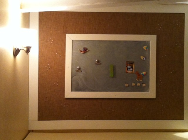 Magnetic Bulletin Board Basement Eclectic with Art Bulletin Board Craft