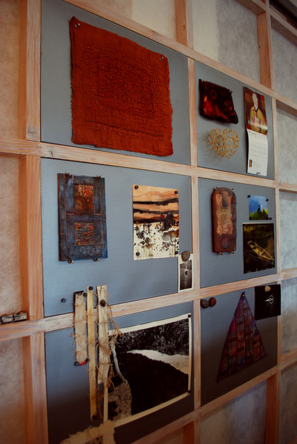 Magnetic Bulletin Board Bathroom Eclectic with Categorybathroomstyleeclecticlocationseattle