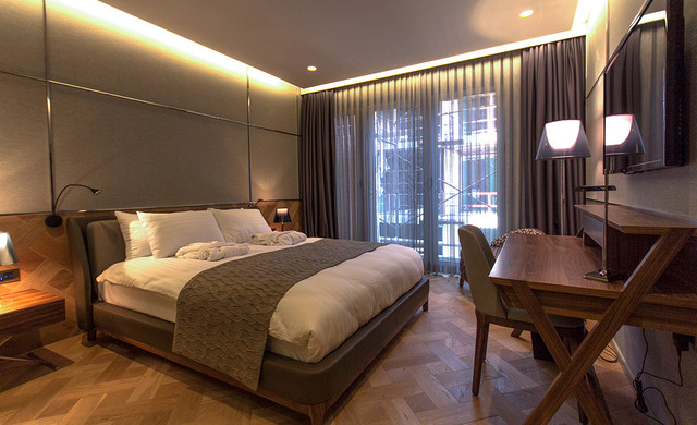 Magnetic Bulletin Board Bedroom Contemporary with Basket Weave Flooring Classic