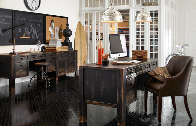 Magnetic Chalkboard Home Office with Categoryhome Officelocationsan Francisco