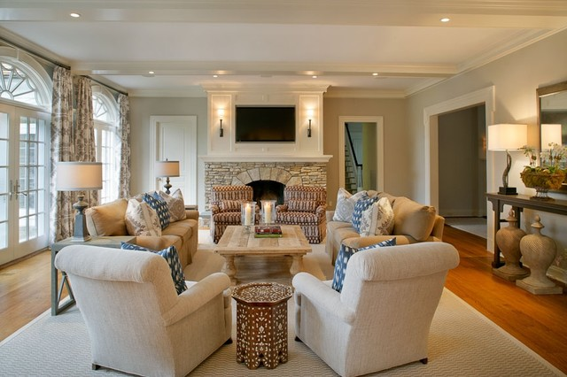 Magnussen Furniture Family Room Traditional with Categoryfamily Roomstyletraditionallocationnew York