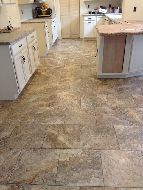 Mannington Adura Kitchen Traditional with El Dorado Hills Folsom